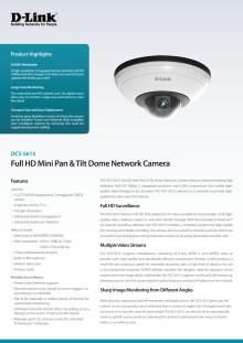 Produktblad - DCS-5615