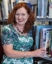School librarian Shelagh just pipped to the top spot