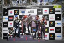 Hyundai Motorsport avslutar WRC-säsongen 2017 med dubbla pallplatser och seger i Rally Australia