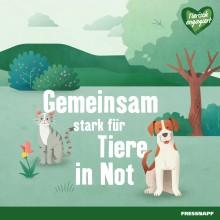 """Fressnapf-Kunden und Unternehmen bleiben auch in Krisenzeiten """"Tierisch engagiert"""" und unterstützen den Tierschutz"""