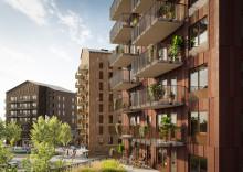 Mimer och Skanska bygger flerbostadshus i Bäckby centrum, Västerås