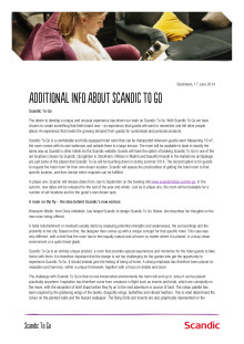 Factsheet Scandic To Go