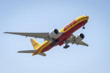Helt ny Boeing 777 Freighter utökar DHL:s interkontinentala flotta