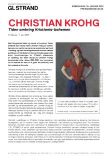 Pressemelding fra Kunstforeningen GL STRAND