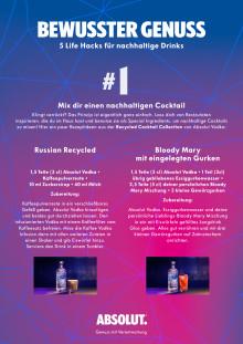5 Life Hacks für nachhaltige Drinks