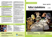 Kultur i stadsdelarna nr 1/2013