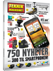 750 ville nyheter i Teknikmagasinets nye katalog!