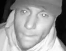 Appeal to trace burglar caught on CCTV