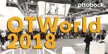Välkommen till vår gröna oas på OTWorld 2018 i Leipzig