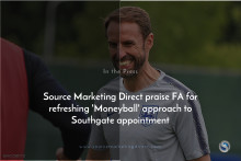 Source Marketing Direct praise FA for refreshing 'Moneyball' approach to Southgate appointment