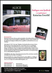 Nobelpristagaren i litteratur Alice Munro läses upp av Katarina Ewerlöf