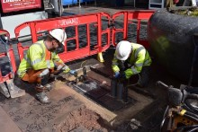 Superfast broadband work starts in Cardiff's Castle quarter