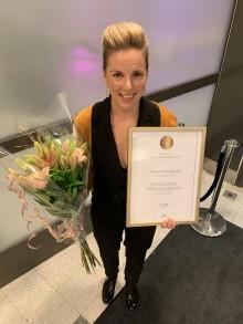 Kvinnlig förebild blir Årets yrkeslärare