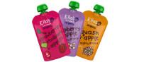 Ella's Kitchen lanserer nye klemmeposer med lavt nivå fruktsukker!