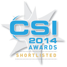 Xstream is shortlisted for the 2014 CSI Awards