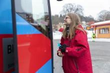 Efter succékampanjen: Nu får fler länsbor testa gratis kollektivtrafik