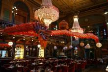Magnifik dekorationsdrake & avsmakningsmeny på Berns Asiatiska!