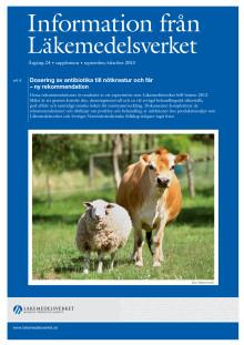 Information från Läkemedelsverket supplement 2013