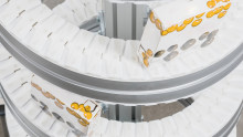 Increased possibilities with the Compact Spiral Elevator