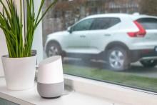 Sätt på värmen i Volvon med hjälp av Google Home