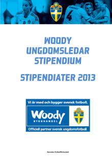 Woody Ungdomsledarstipendiater 2013