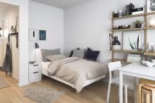 Blå Port i Karlskrona växer med ytterligare 40 eftertraktade lägenheter från BoKlok