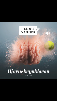Fredrik gästade podden Tennisvänner och pratade om hur man kan träna tanken i tennis