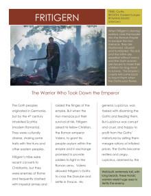 Barbarians Rising: Fritigern (Steven Waddington)