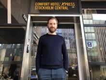 Sverige har fått sitt första Comfort Hotel Xpress & Daniel sitt första direktörsjobb