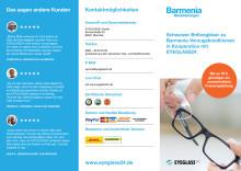 EYEGLASS24 - Prospekt für Kunden