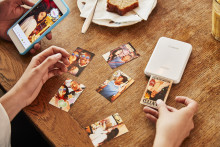 Skriv ut og del minnene med det samme med Canons minste og letteste fotoskriver – Canon Zoemini