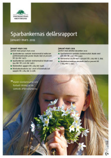 Sparbankernas delårsrapport Januari-mars 2011