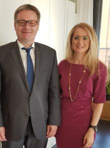 Vorsitzender des bayerischen Finanzausschusses im Gespräch mit dem BdS