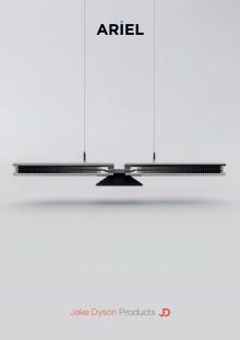 Broschyr Ariel - LED-armatur som lyser i mer än 37 år.