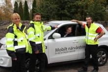 Fler äldre kan få vård i hemmet: Premiär för nytt mobilt närvårdsteam