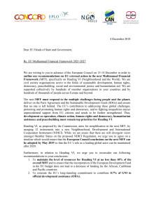 Rekommendationer CONCORD Europa