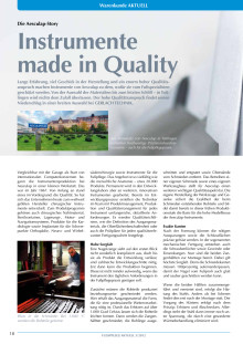 Die Aesculap-Story: Instrumente made in Quality