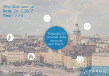After Work Seminar: Everyday IoT personal data exposure and threats