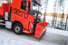 Ökad säkerhet med frontmonterad sandspridare för lastbilar