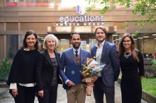 Himanshu Kataria blev årets MBA-stipendiat