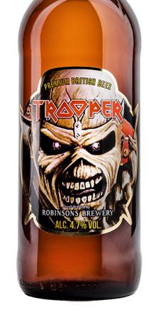 Iron Maiden Trooper Ale lanseras i samtliga Systembolagsbutiker