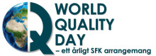 Qvalify välkomnar er som kund till World Quality Day 2018 - free of charge