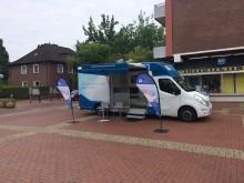 Beratungsmobil der Unabhängigen Patientenberatung kommt am 19. Juli nach Münster.