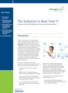 Whitepaper: The Evolution to Real-Time IT