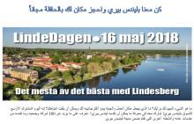LindeDagen 16 maj: Lindesbergs kommun bjuder på bussresor även i år