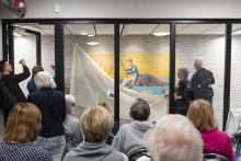 Bortglömd konst avtäcktes på Kungsholmen