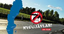 """""""Myggjävlar"""" sticker ut på Sverigeturné!"""