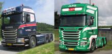 To nye Scania til L. M. Transport ApS i Ans