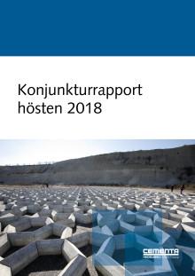 Cementas konjunkturrapport för hösten 2018 är här