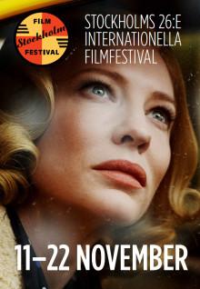 Carol pryder Stockholm Filmfestivals officiella festivalaffisch